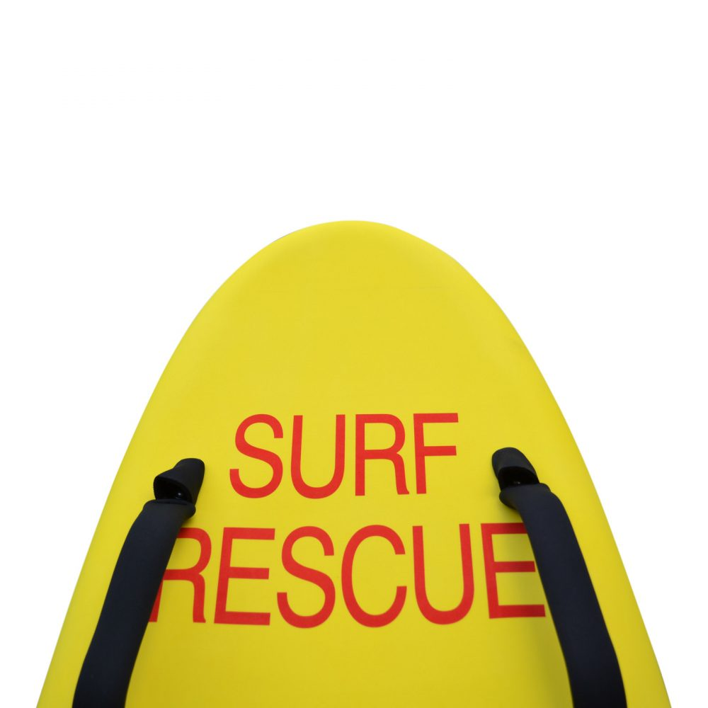 "10' 6"" Soft Top Rescue Board, RED SURF RESCUE LOGO"
