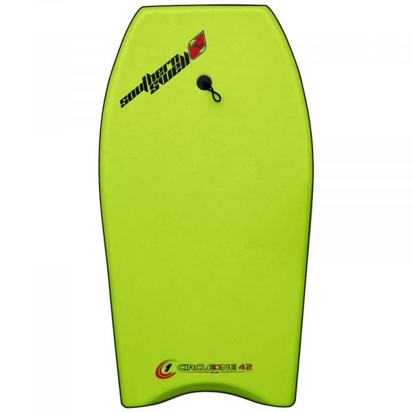 An image of a Circle One Bodyboard.