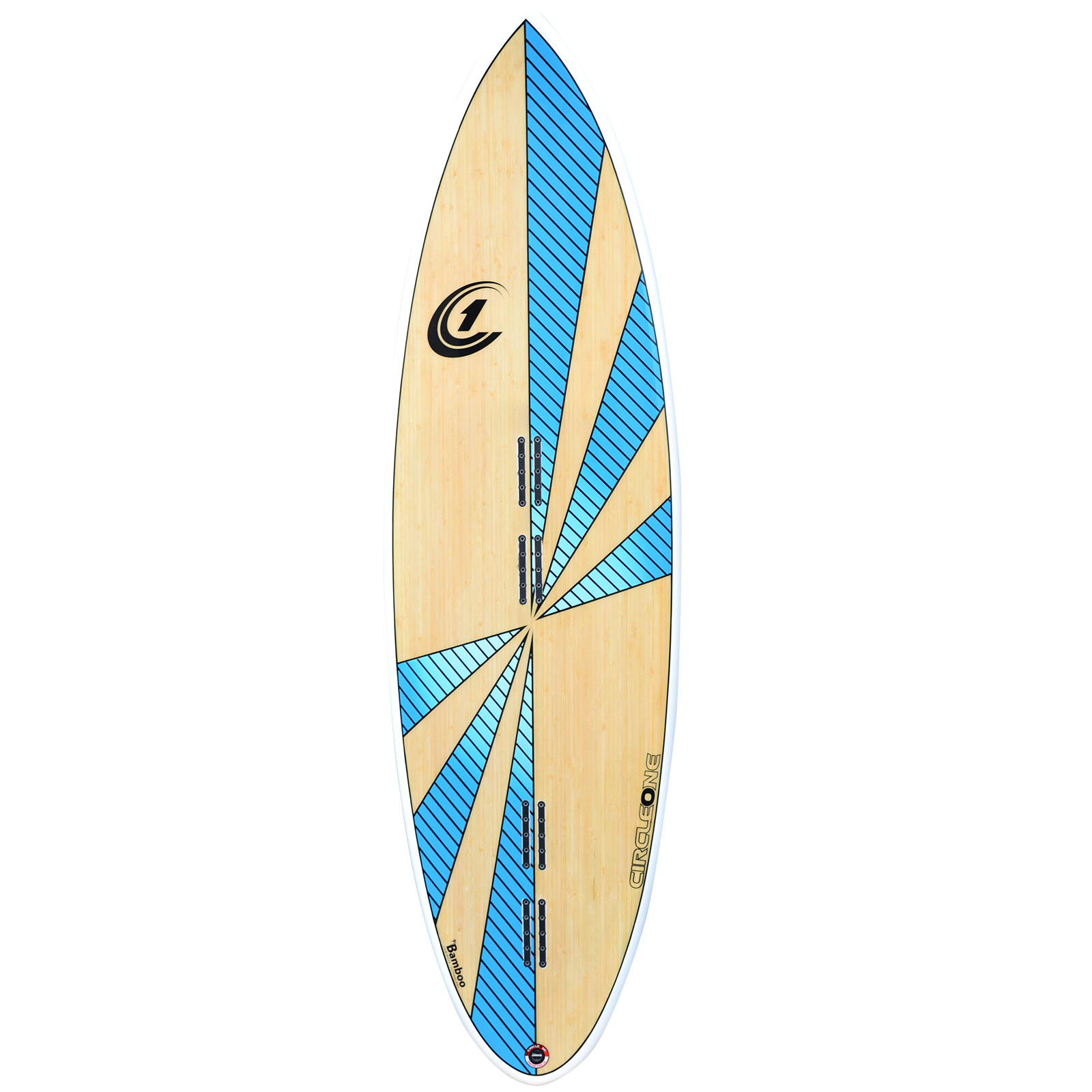 5ft-8inch-Round-Tail-Kiteboard-Blue