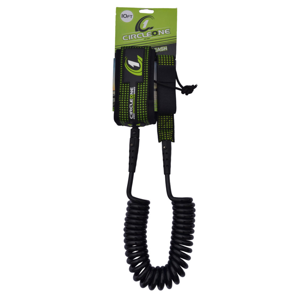 10ft Coiled SUP Knee/Ankle Leash (8mm diameter)