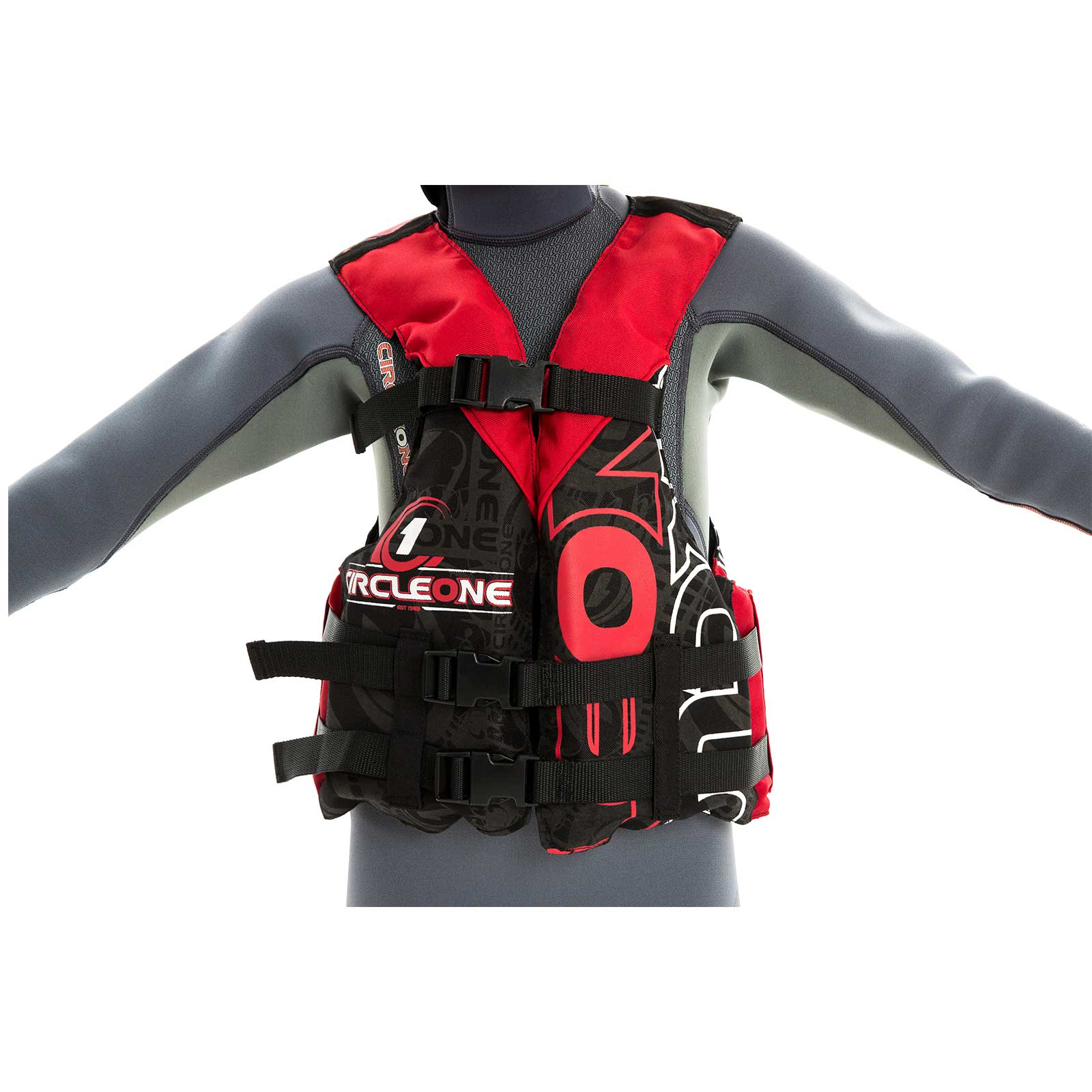 40N Youth Buoyancy Aid PFD with 3 Straps (CE EN393)