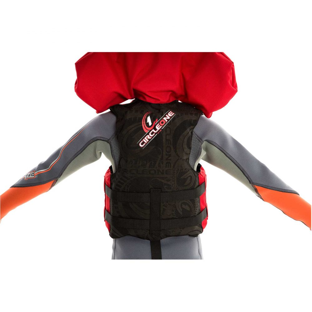40N Child Buoyancy Aid with 3 Straps & Collar (one size)
