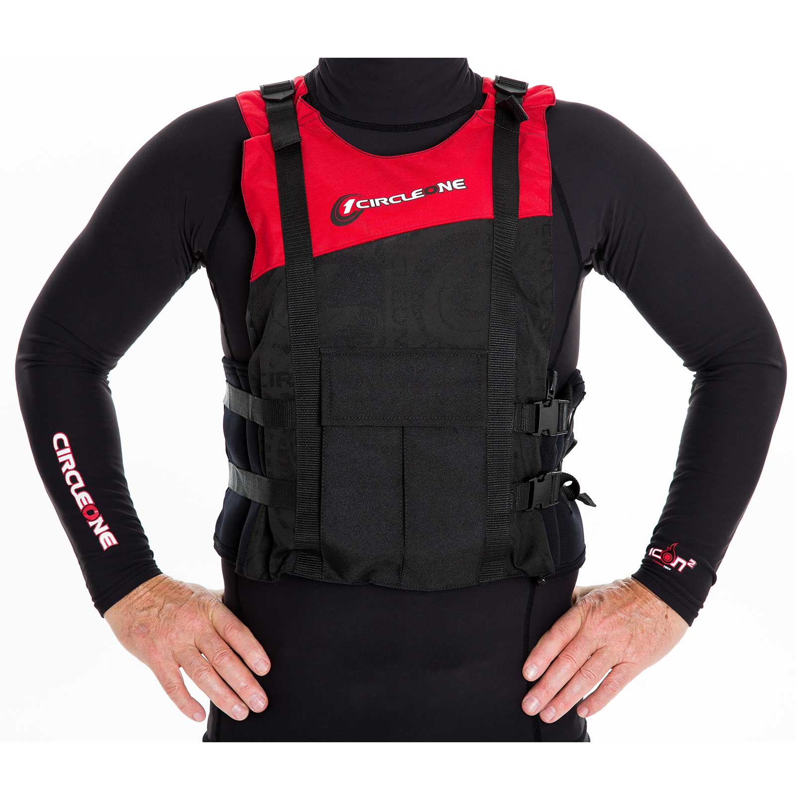 50N Adult Adjustable Buoyancy Aid PFD with Side Zip