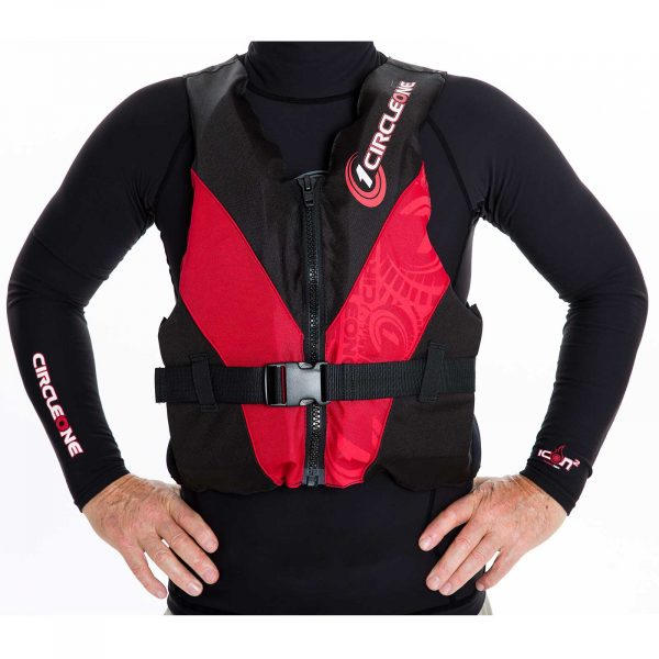 50N Adult Buoyancy Aid with Front Zip and Chest Strap (CE EN393)