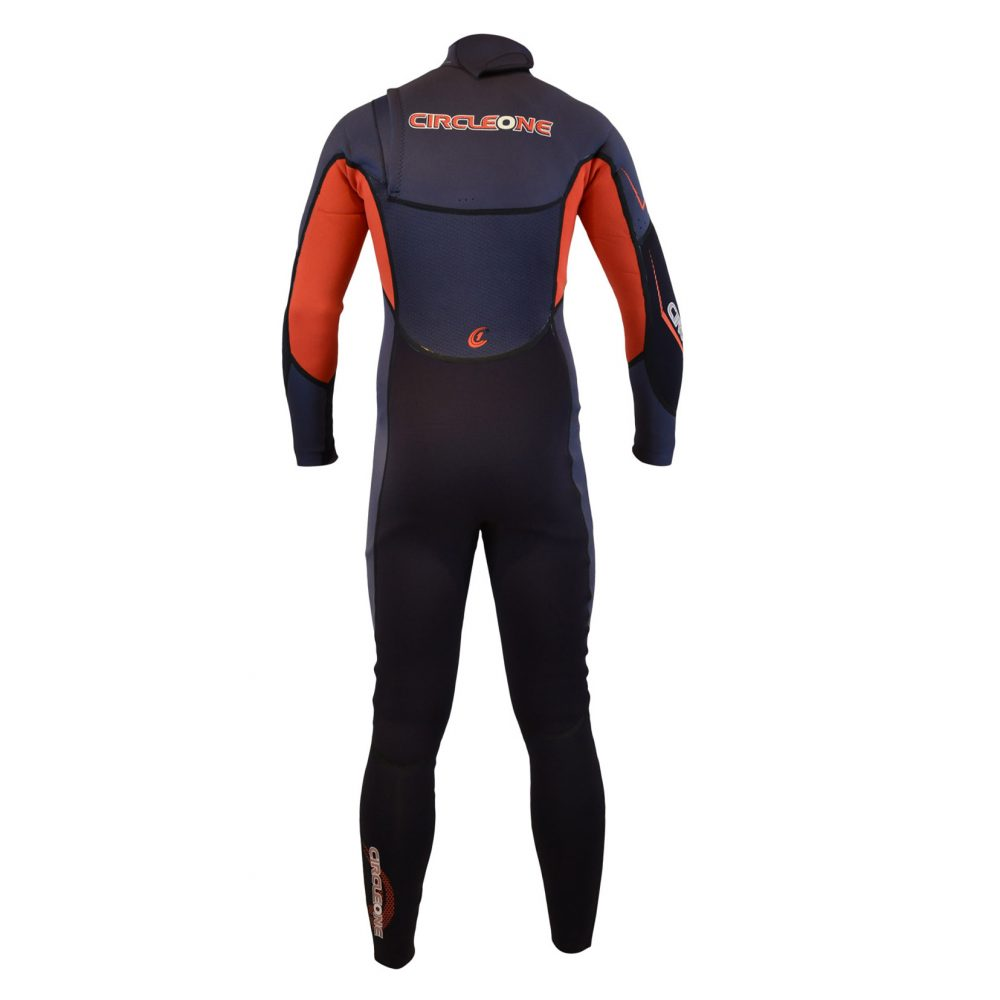 ELEV8 Mens 3/2mm GBS Chest-Zip SUMMER Wetsuit (Full Liquid Seal)