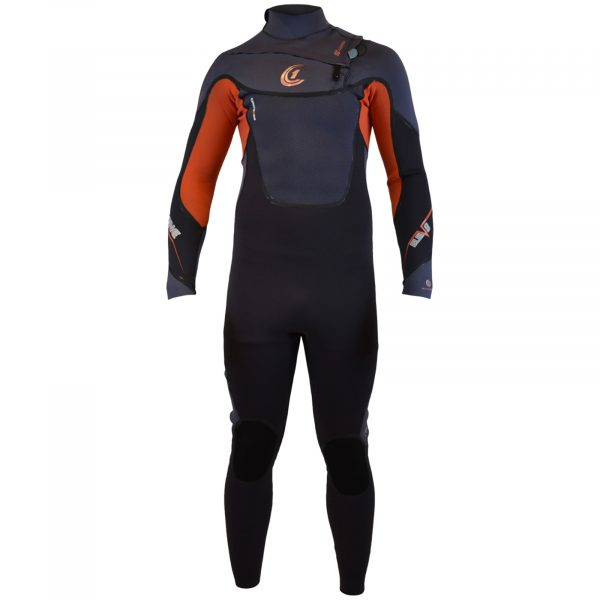 ELEV8 3/2mm GBS Chest-Zip Mens SUMMER Wetsuit (Full Liquid Seal)