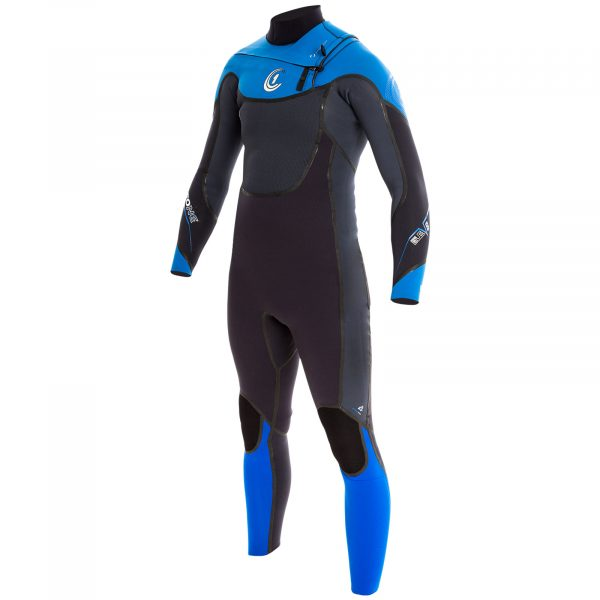ELEV8 Mens 5/4/3mm GBS Chest-Zip WINTER Wetsuit (Full Liquid Seal)