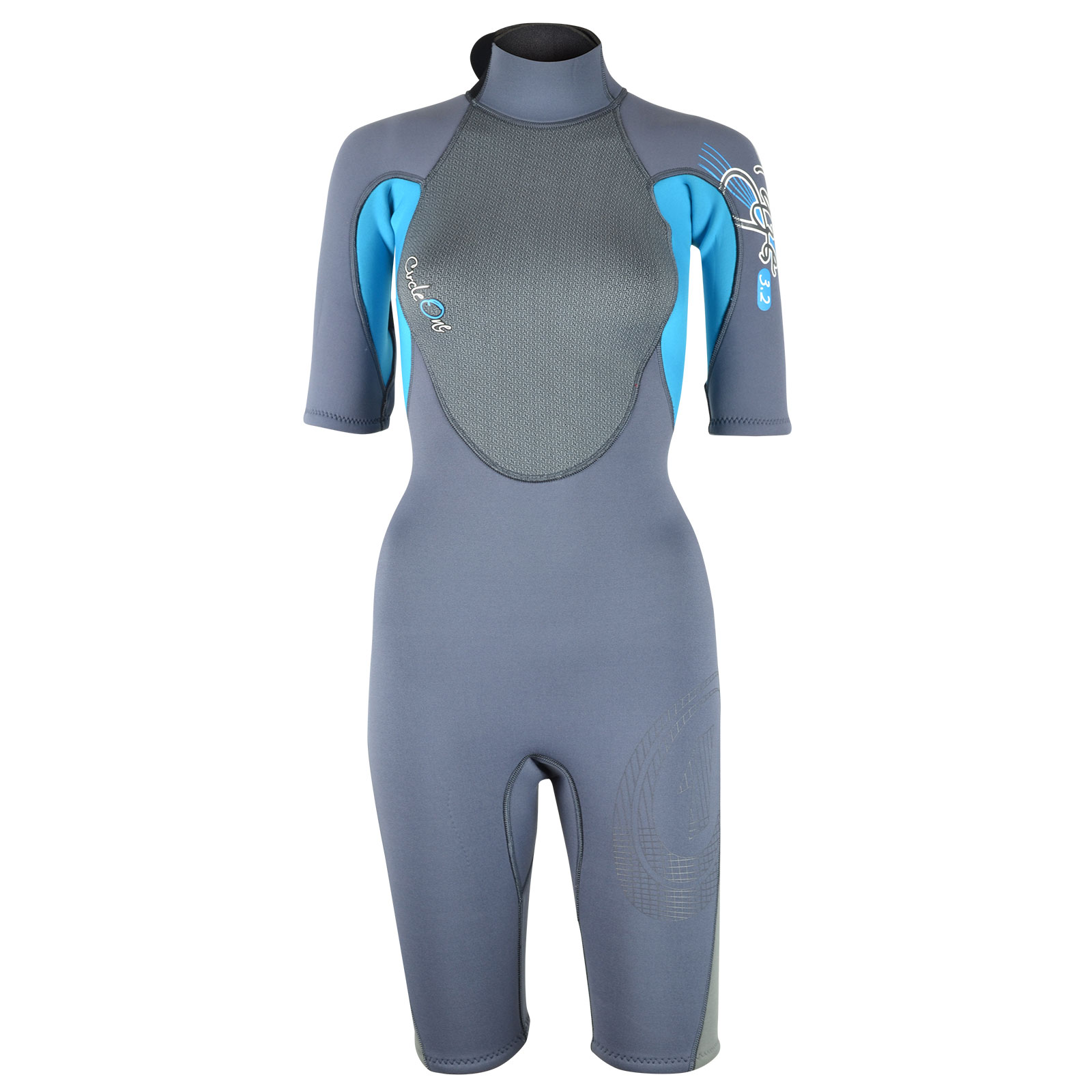 FAZE 3/2mm Summer Womens Shorty Wetsuit