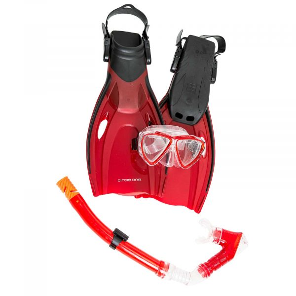 An image of the Circle One Kids Snorkel Set.