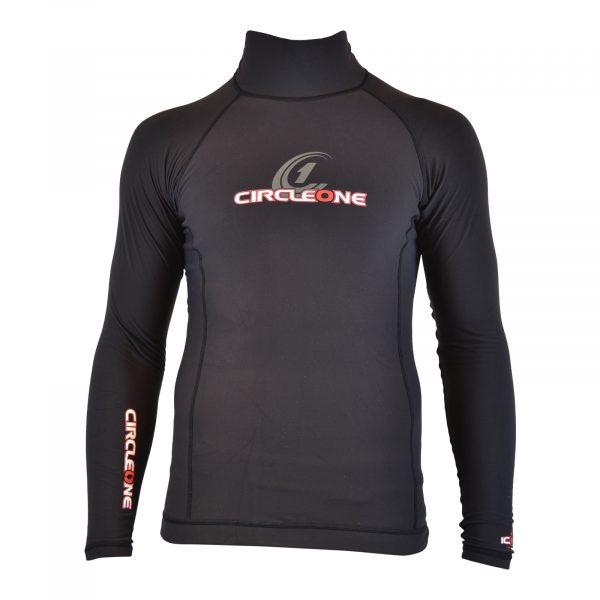 ICON Mens Polypro Thermal Long Sleeve Rash Vest