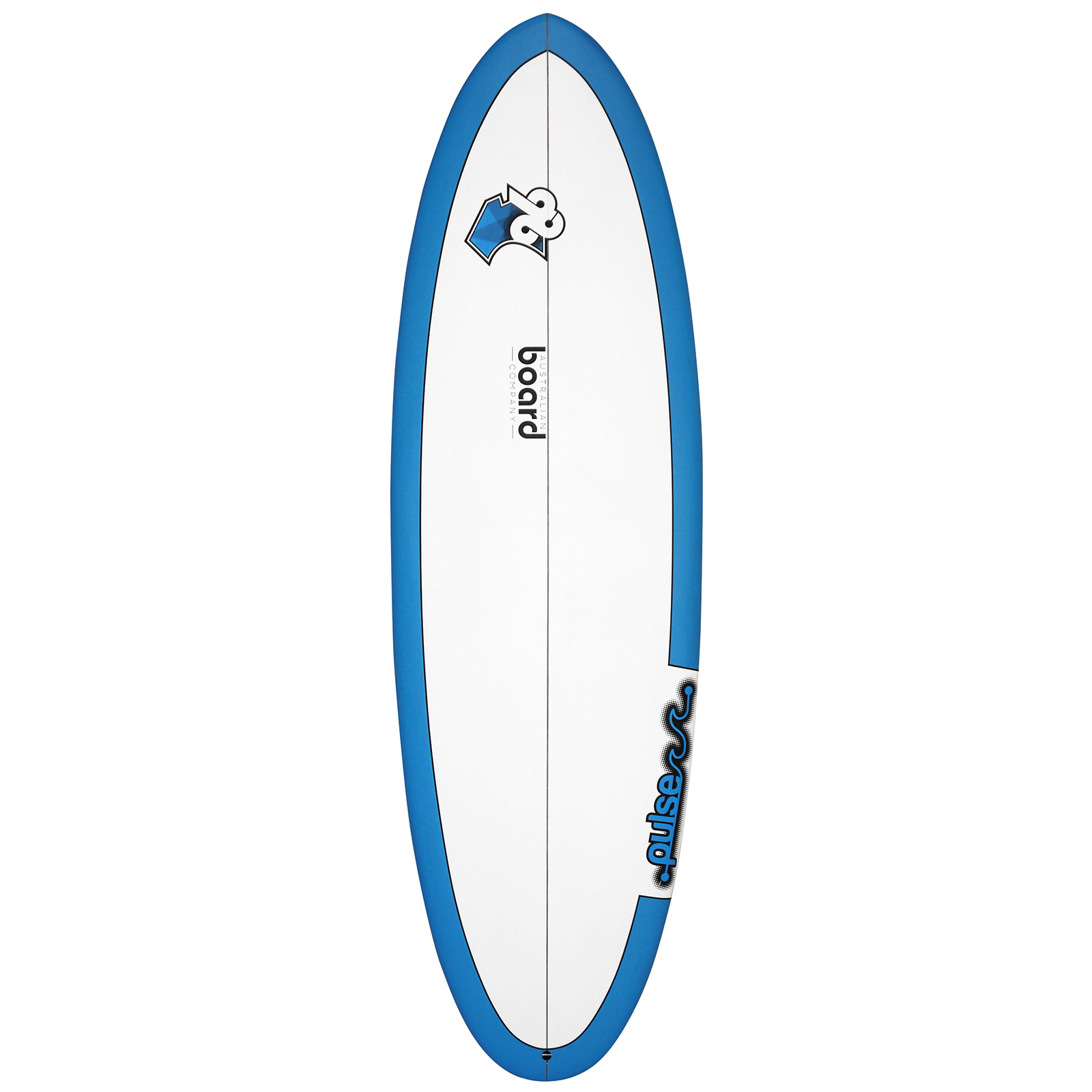 5ft 11inch Pulse Series Round Tail Shortboard Surfboard by Australian Board Company (ABC) - Matt Finish