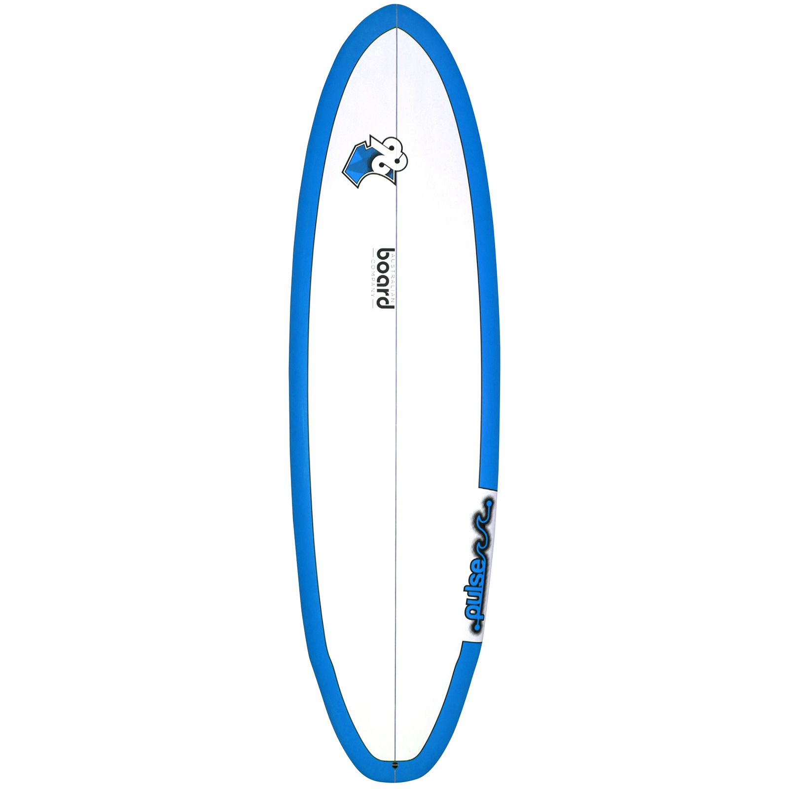 6ft 6inch Pulse Series Wing Round Square Tail Shortboard Surfboard by Australian Board Company (ABC) - Matt Finish