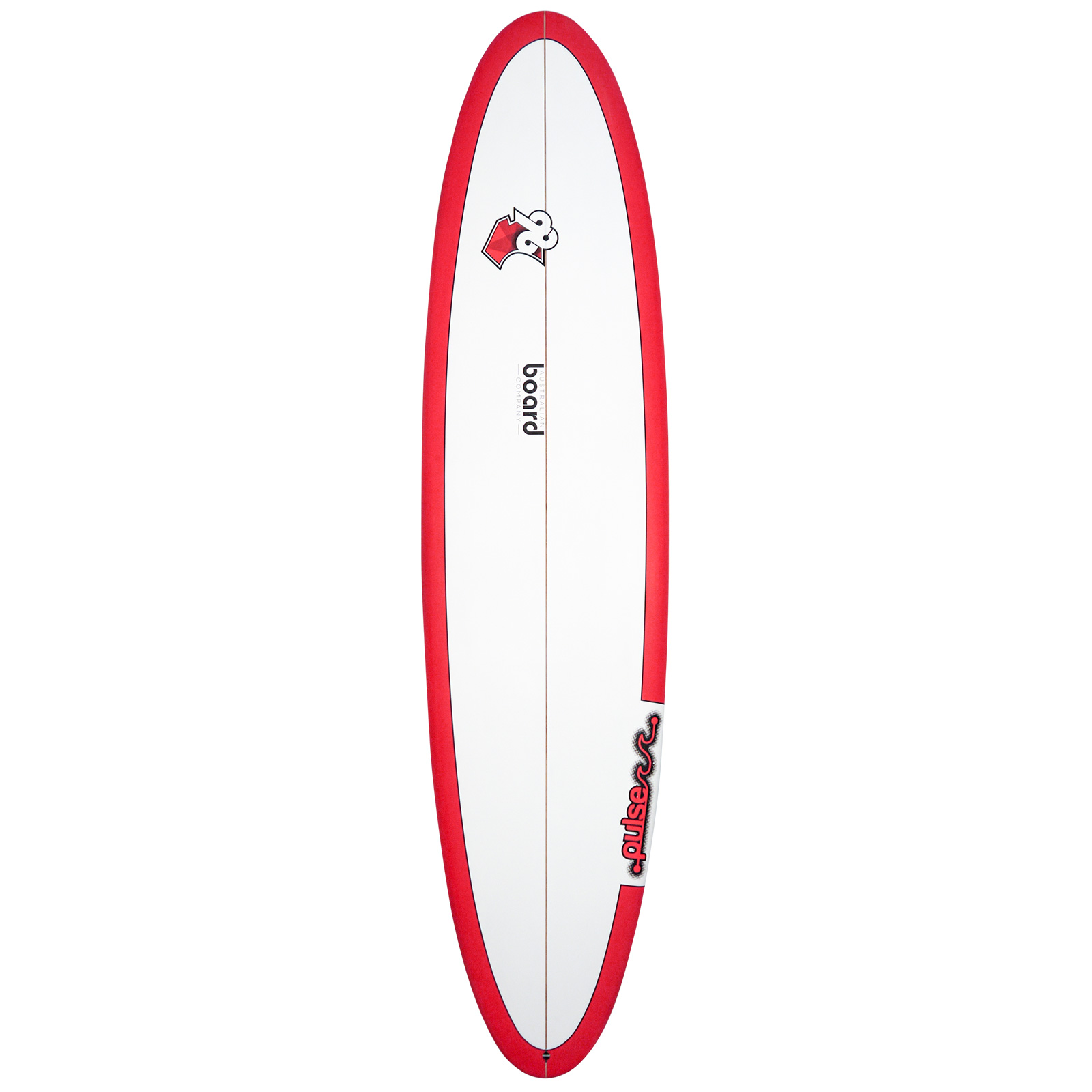 7ft 6inch Pulse Series Round Tail Mini Mal Surfboard by Australian Board Company (ABC) - Matt Finish