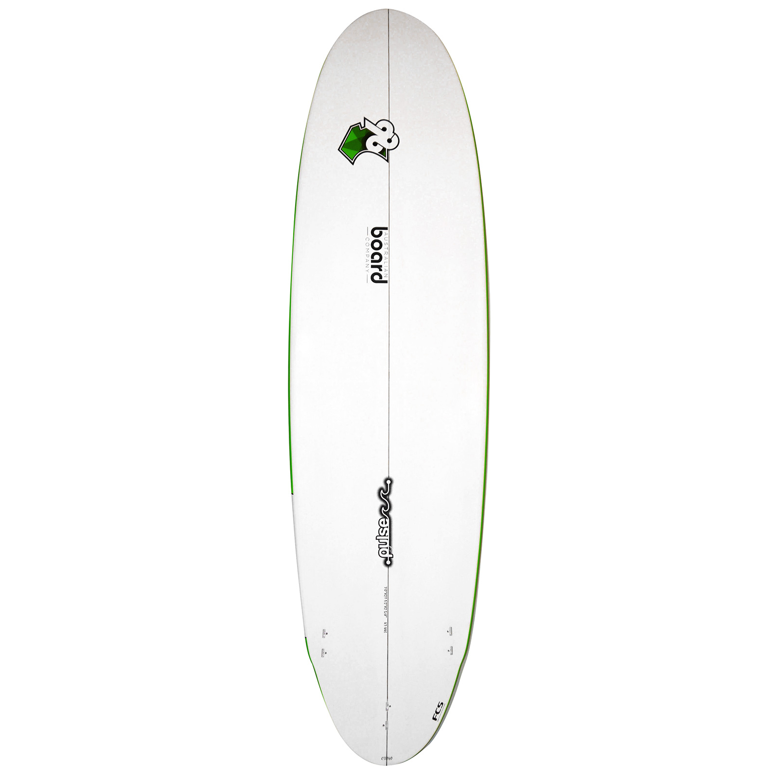 7ft Pulse Series Wing Round Tail Funboard Surfboard by Australian Board Company (ABC) - Matt Finish