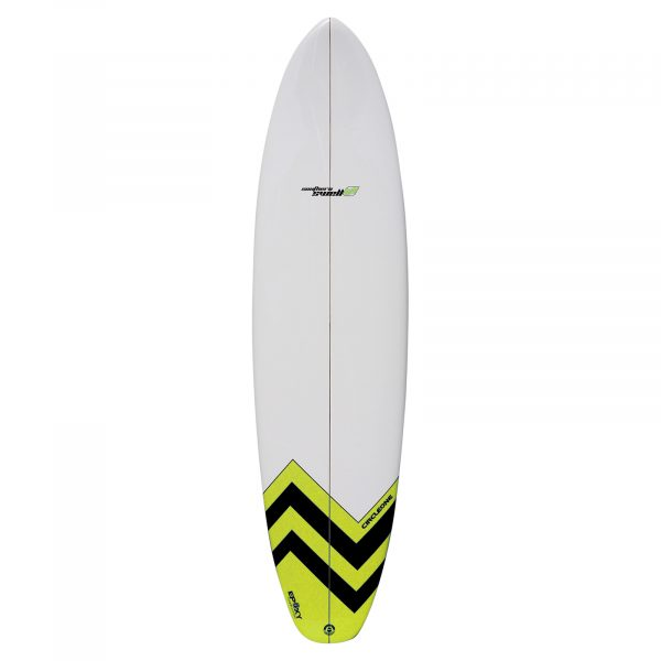 An image of the Circle One 7'2 Funboard.