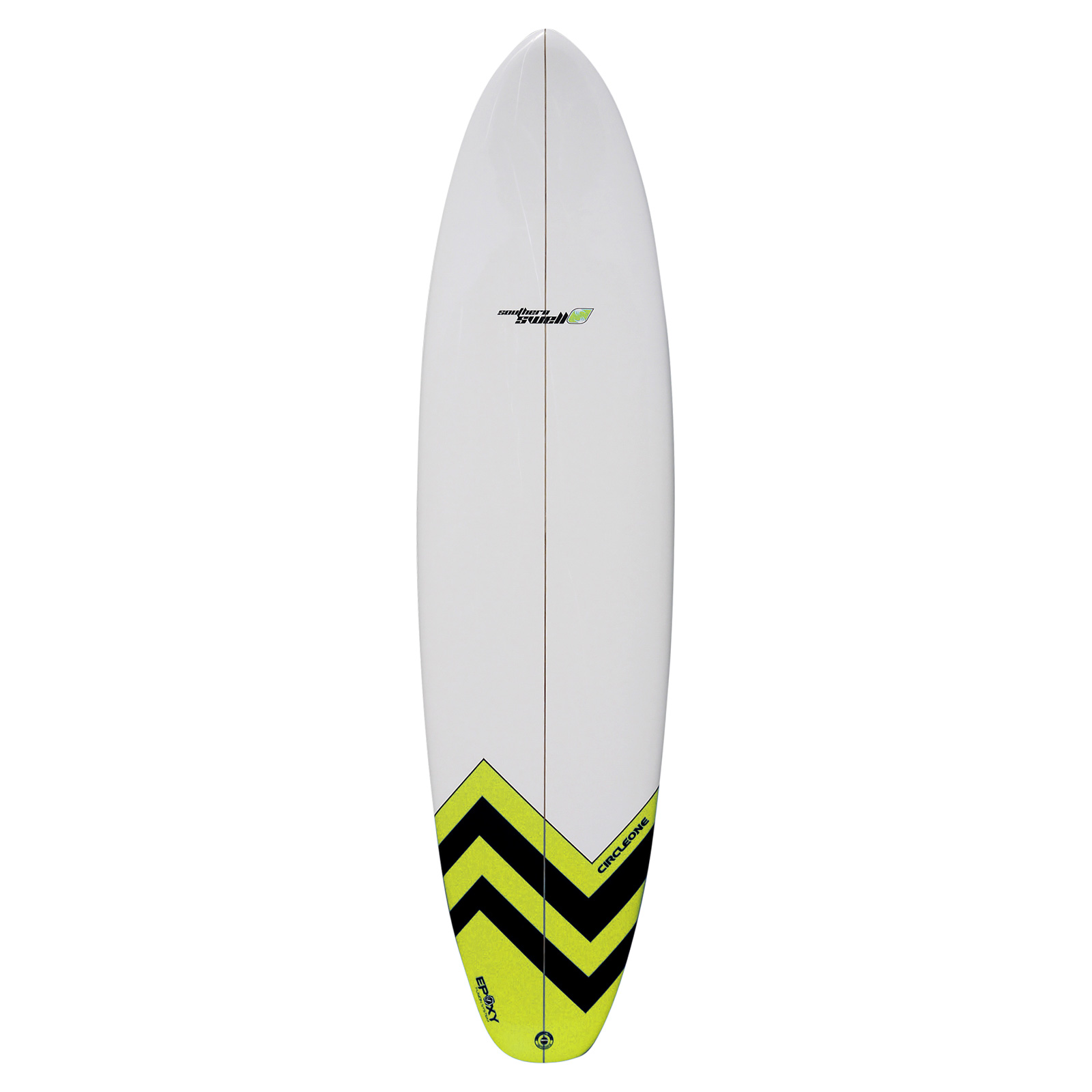 7ft 2inch Circle One Southern Swell Series Round Squash Tail Funboard Surfboard
