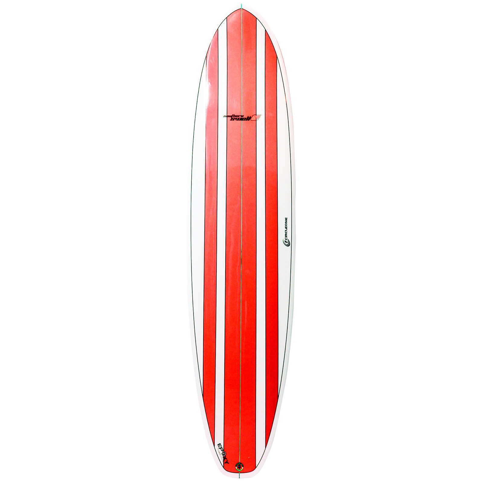 8ft Circle One Southern Swell Series Round Squash Tail Mini Mal Surfboard - Gloss Finish