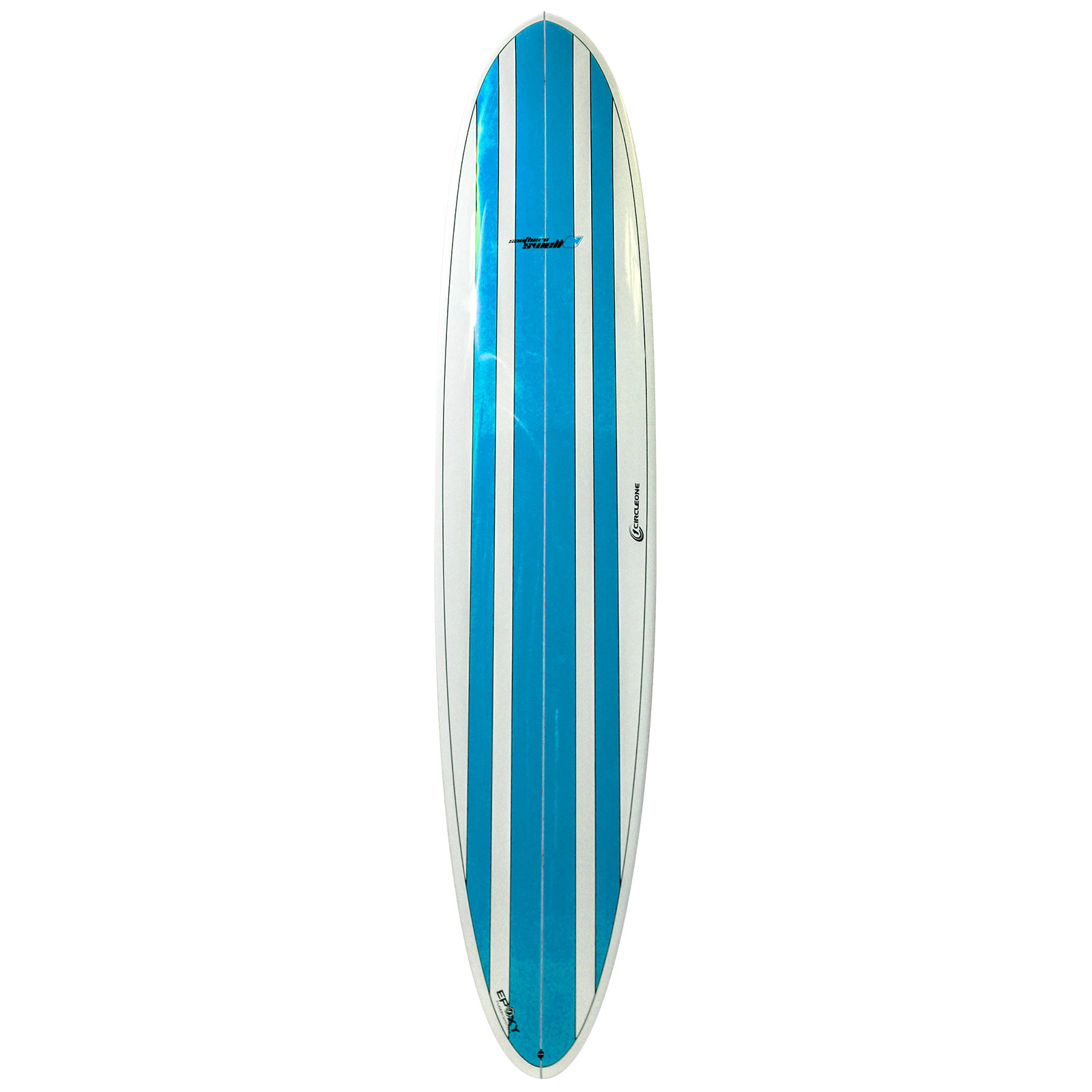 9ft Circle One Southern Swell Series Round Tail Longboard Surfboard - Gloss Finish