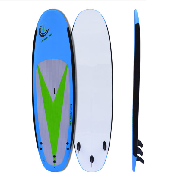 "10' 4"" Soft-Top Stand Up Paddle SUP Board"