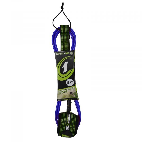 An image of the Circle One 7ft Surfboard Leash.