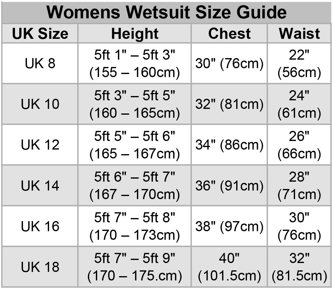 241d8d0821 DIVA Womens 5 4 3mm GBS WINTER Wetsuit (Full Liquid Seal)