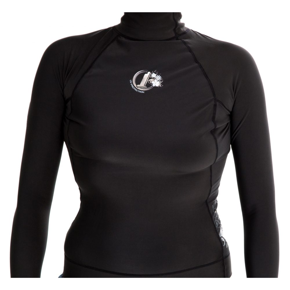 Womens Polypro Thermal Long Sleeved Rash Vest