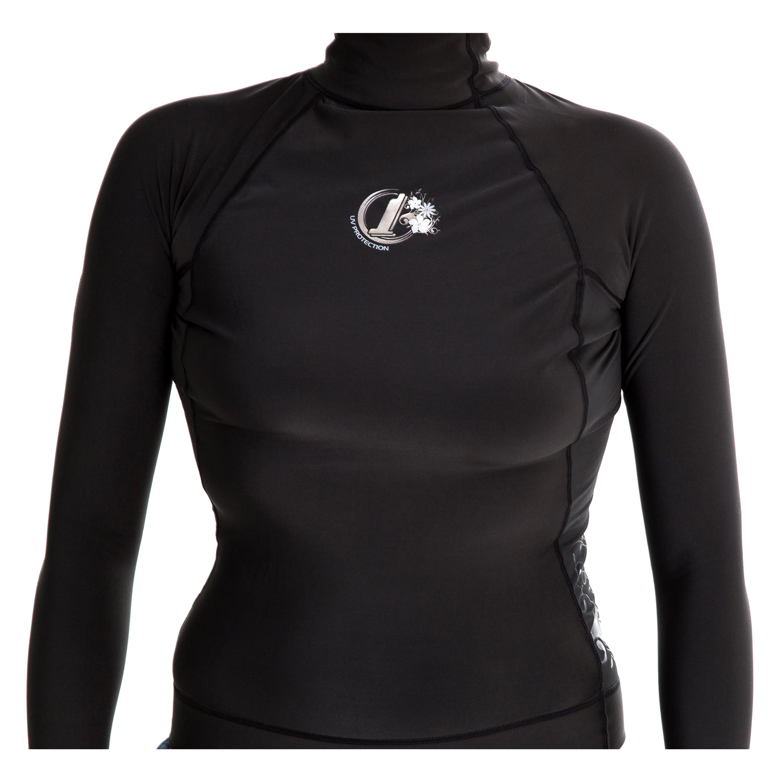 Womens Polypro Thermal Long Sleeve Rash Vest