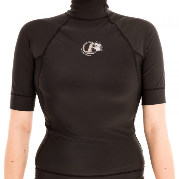 WOMENS Polypro Thermal Short Sleeve Rash Vest