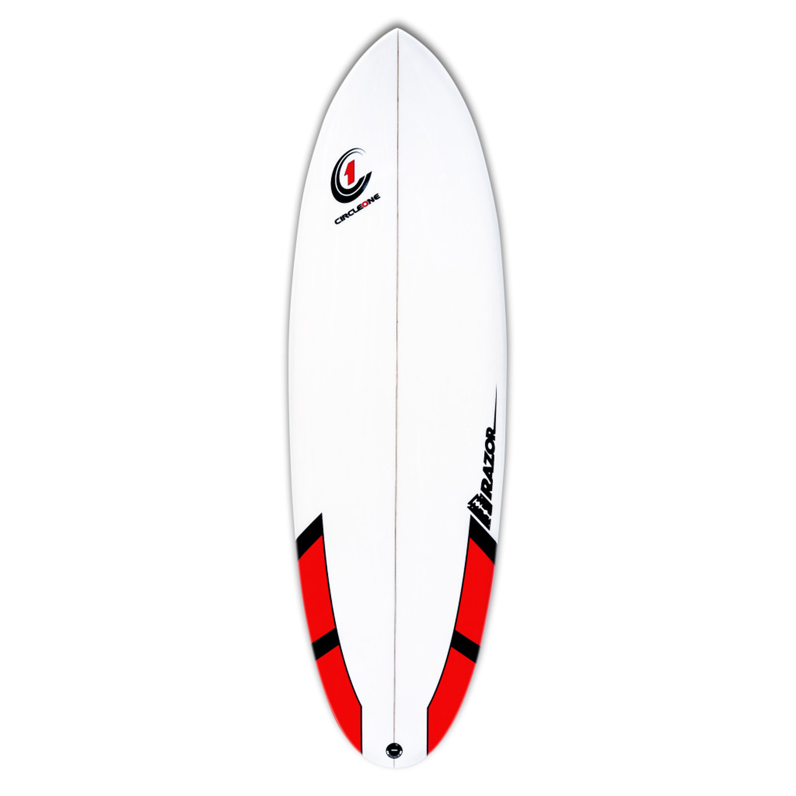 6ft Razor Surfboard - Round Tail Shortboard - Matt Finish