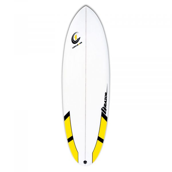 An image of the 6ft Razor, part of our Round Tail Surfboards range.
