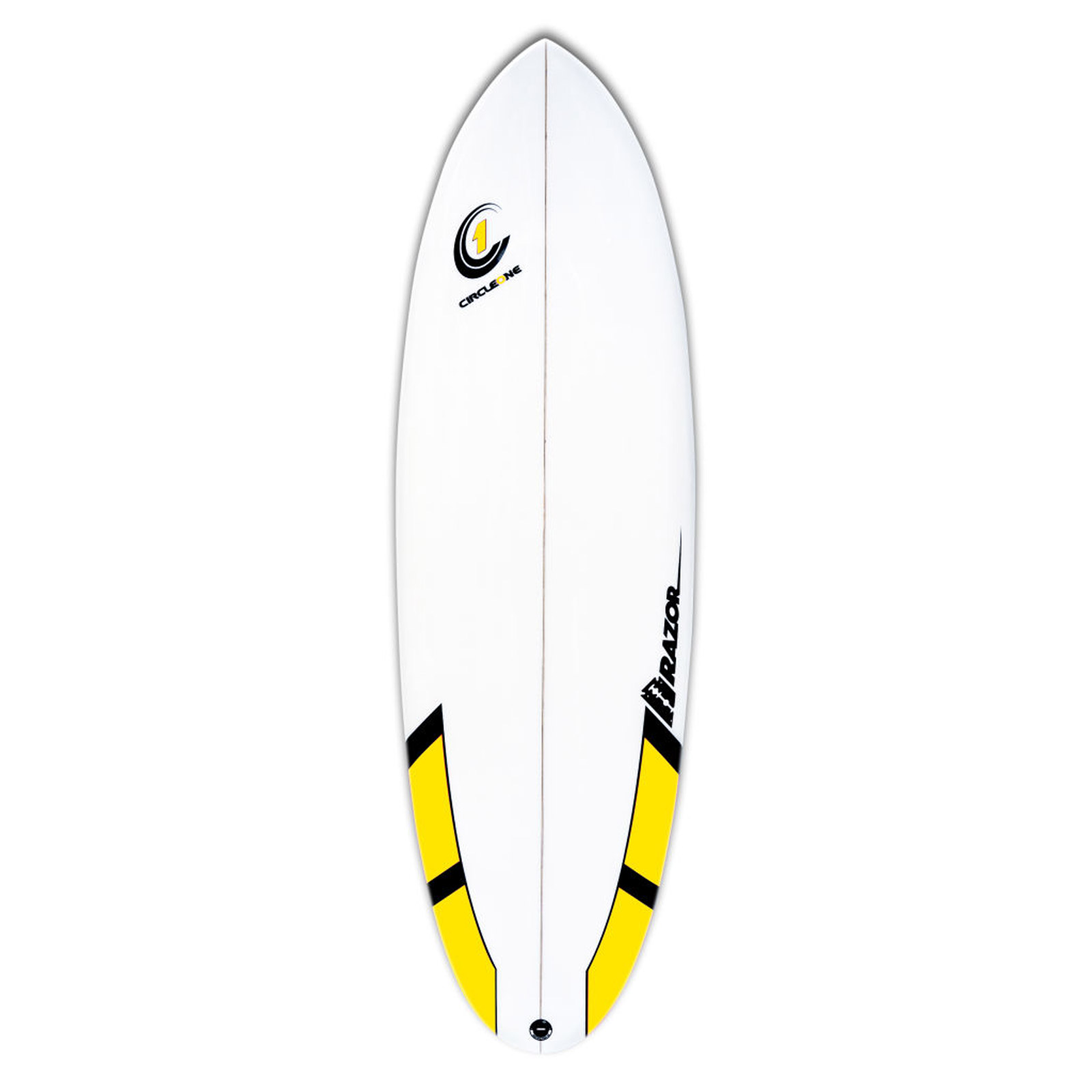 6ft Razor Surfboard - Round Tail Shortboard - Gloss Finish