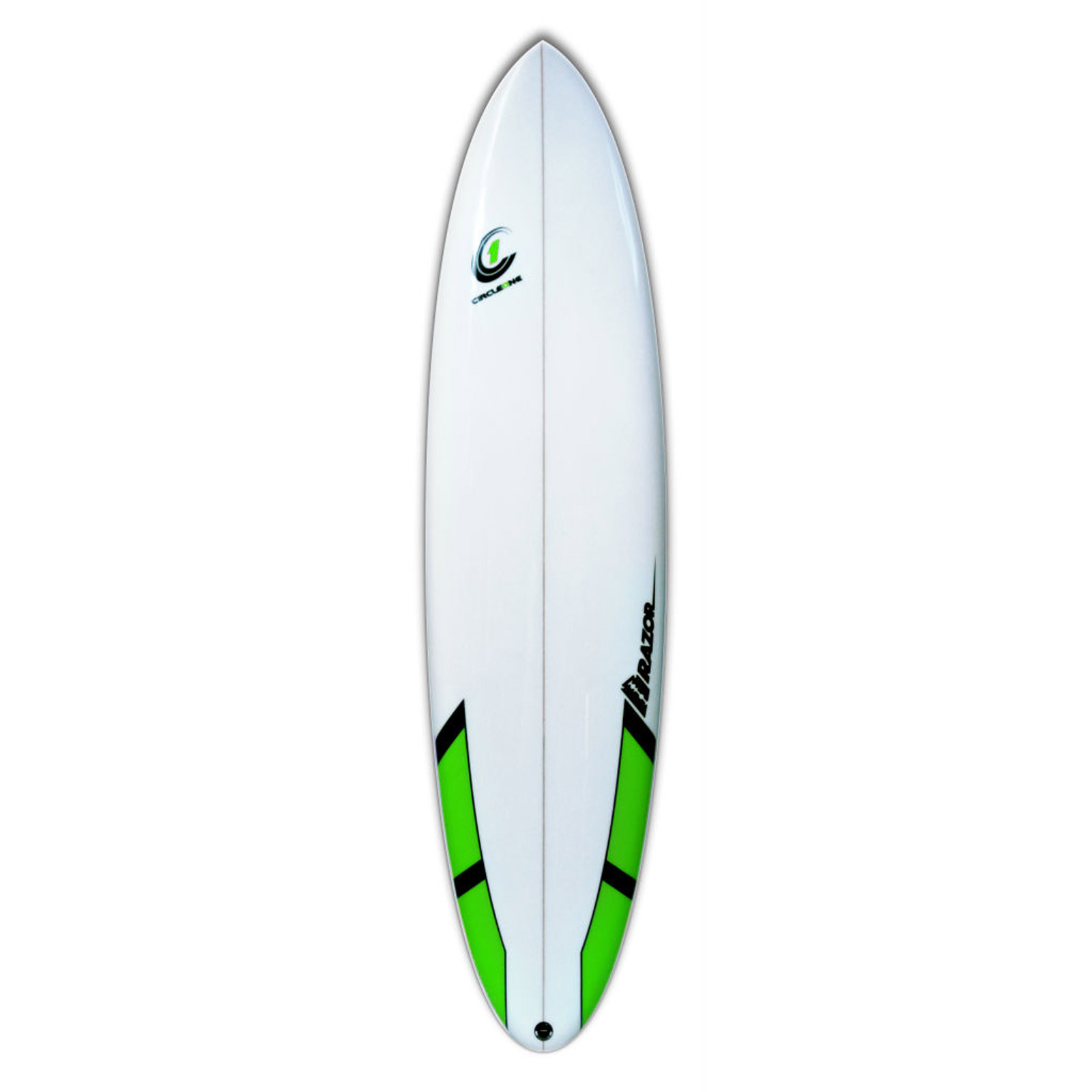 7ft 6inch Razor Mini Mal Surfboard - Round Tail - Gloss Finish