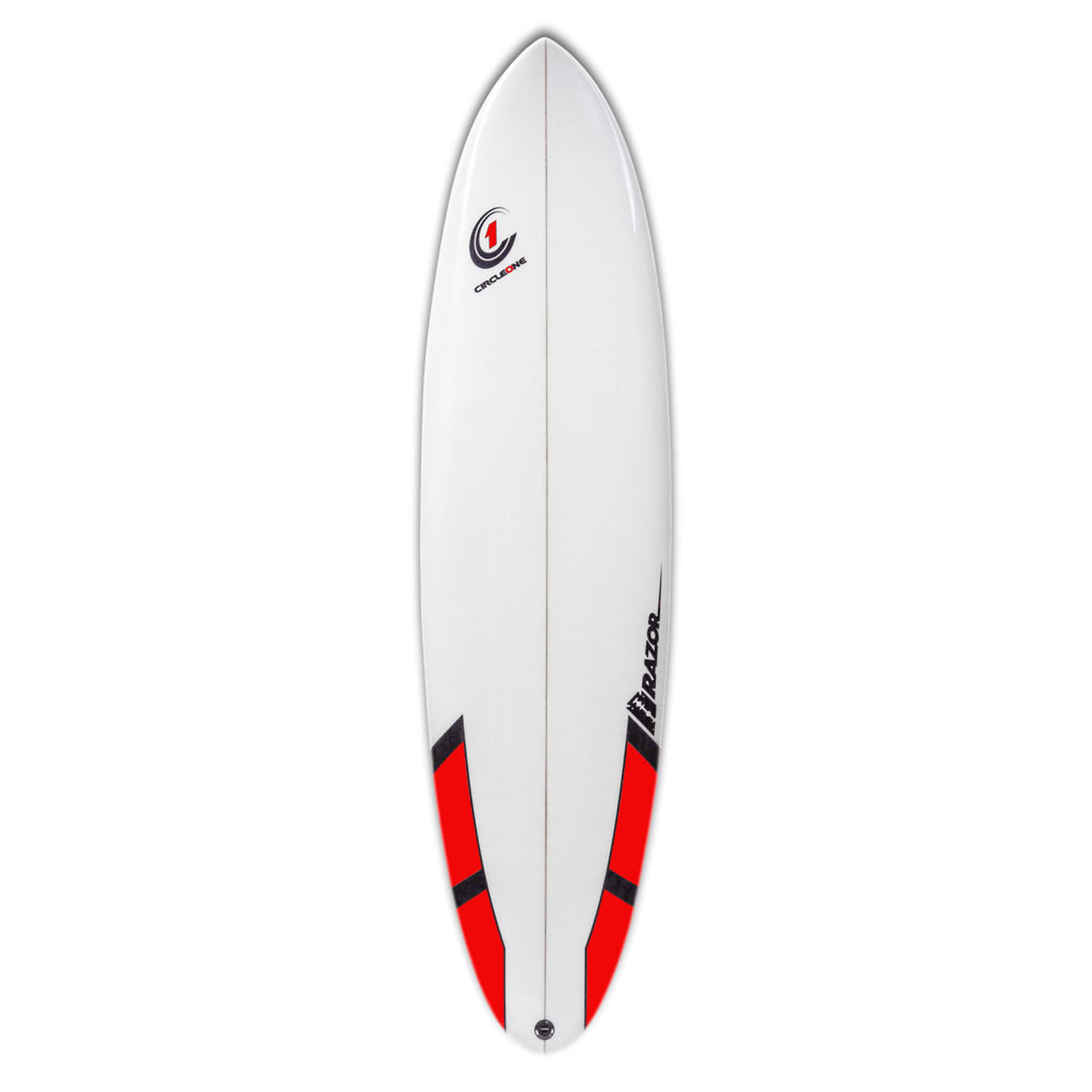 7ft Razor Surfboard with Round Tail - Matt Finish