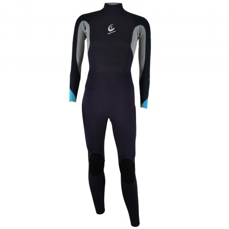 An image of the 2017 FAZE men's wetsuit in blue.