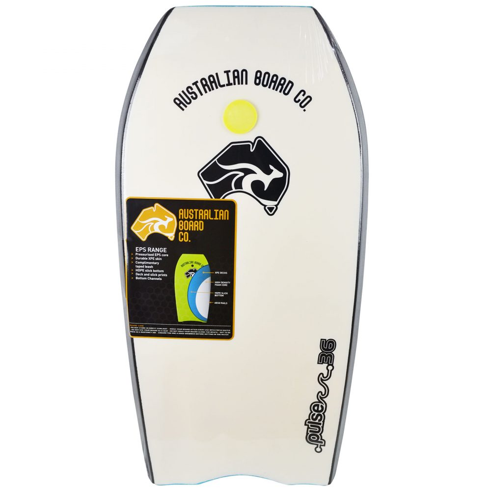 36inch Pulse Series EPS Bodyboard by Australian Board Company (ABC)