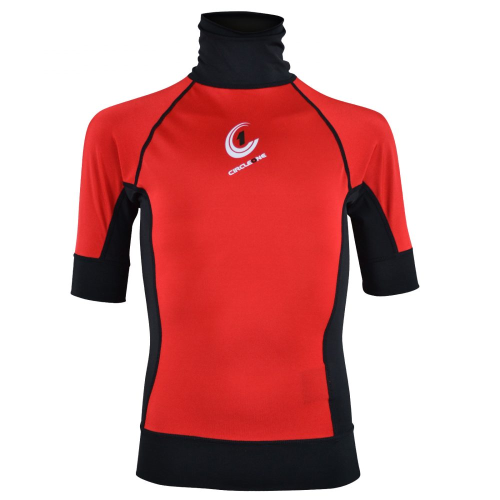 KIDS Lycra Short Sleeve Rash Vest