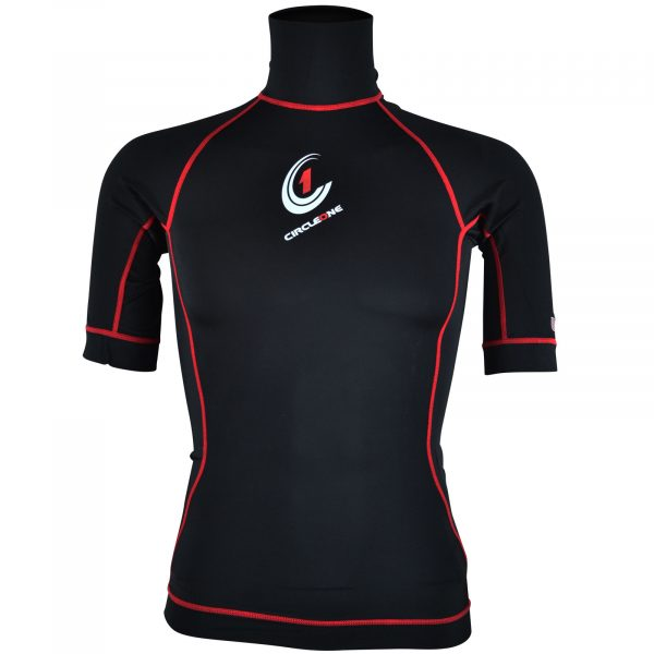 MENS Lycra Short Sleeve Rash Vest