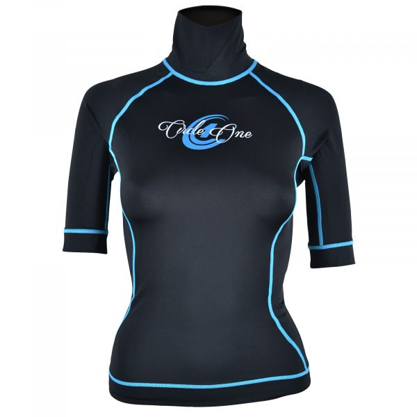 WOMENS Lycra Short Sleeve Rash Vest