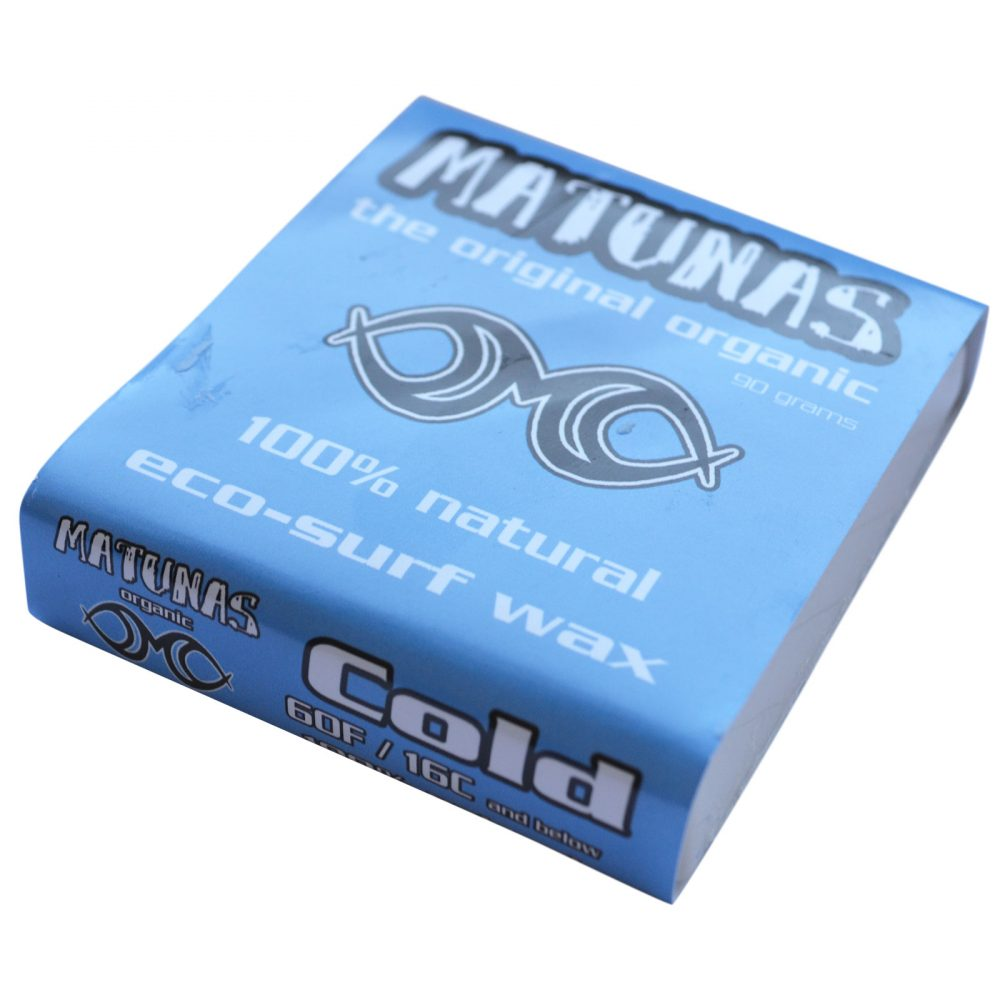 Matunas Eco-Wax COLD Water Surf Wax (15C and below)