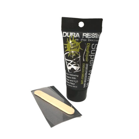 Phix Doctor Dura-Resin Sun-Powered UV Epoxy/Poly Ding Repair Kit 30ml