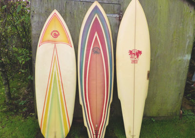 Vintage Circle One Surfboard Shapes 1970s