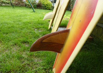 70s Wood Fin