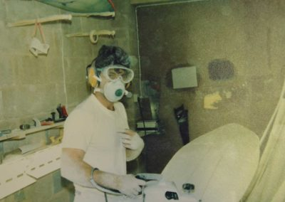 Shaping Room early 1980's