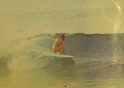 Jeff Townsley Surfing Canaries 1960's