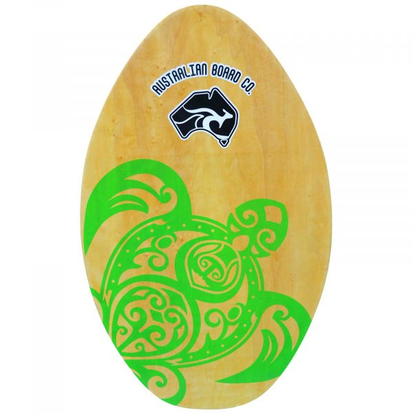 "30"" ABC Wooden Beginners/KIDS Skimboard Turtle"