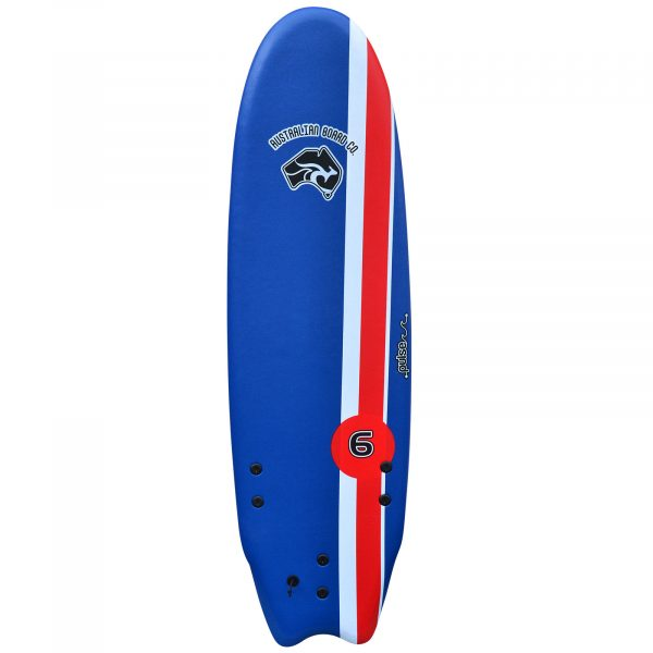 6' Australian Board Co Pulse Soft Learner Surfboard