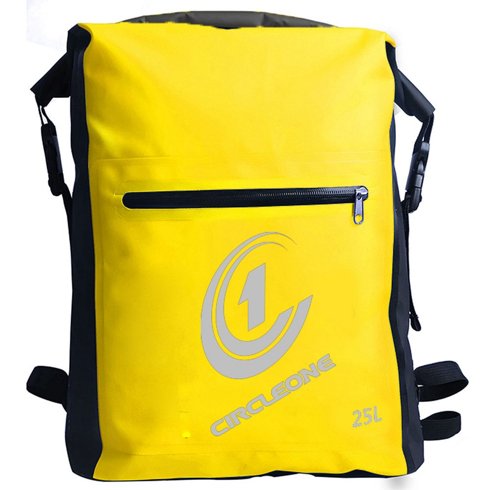 Waterproof Dry Bag Backpack Dry Sack 20 litre - Cylinder Style (with optional shoulder straps)