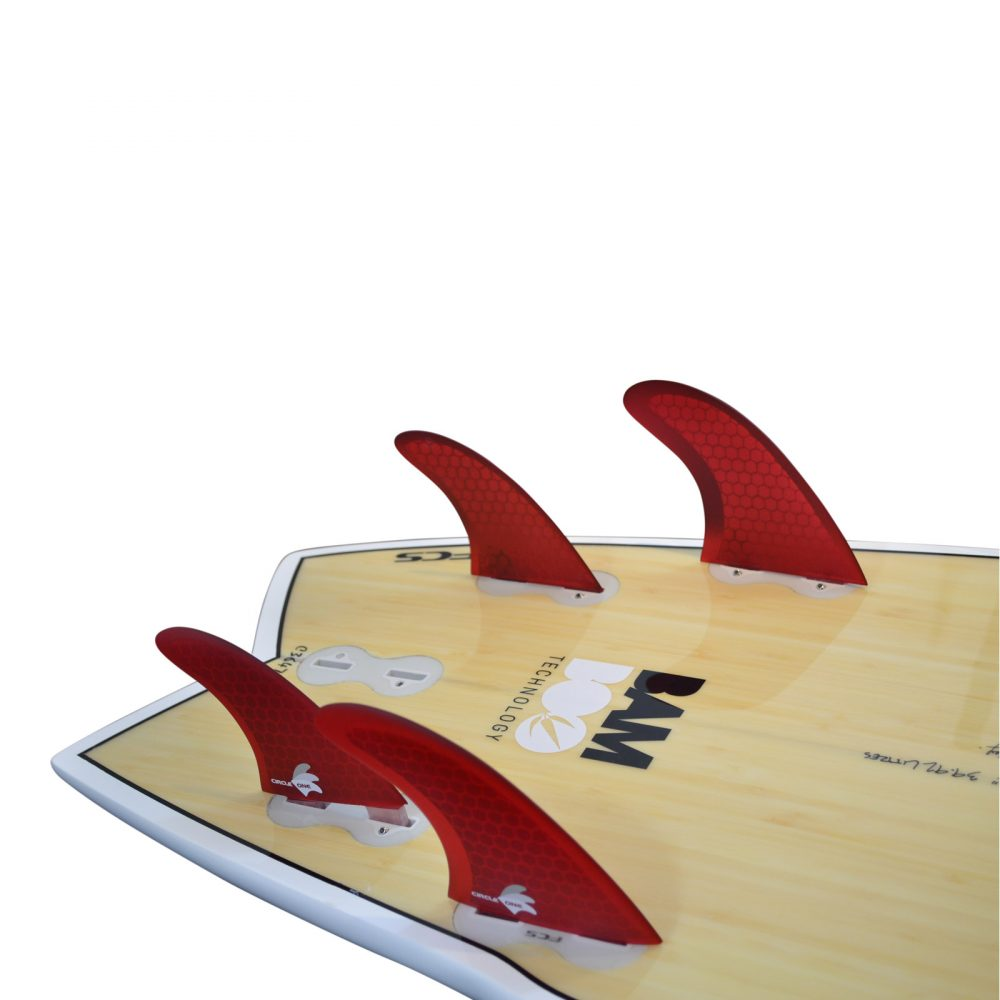 Honeycomb 4 Fin Quad set (FCS compatible M5+G-X)