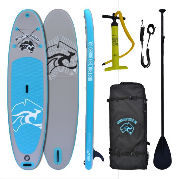"10' 6"" Inflatable Stand Up Paddle (iSUP) Single-layer Board Package by Australian Board Co"