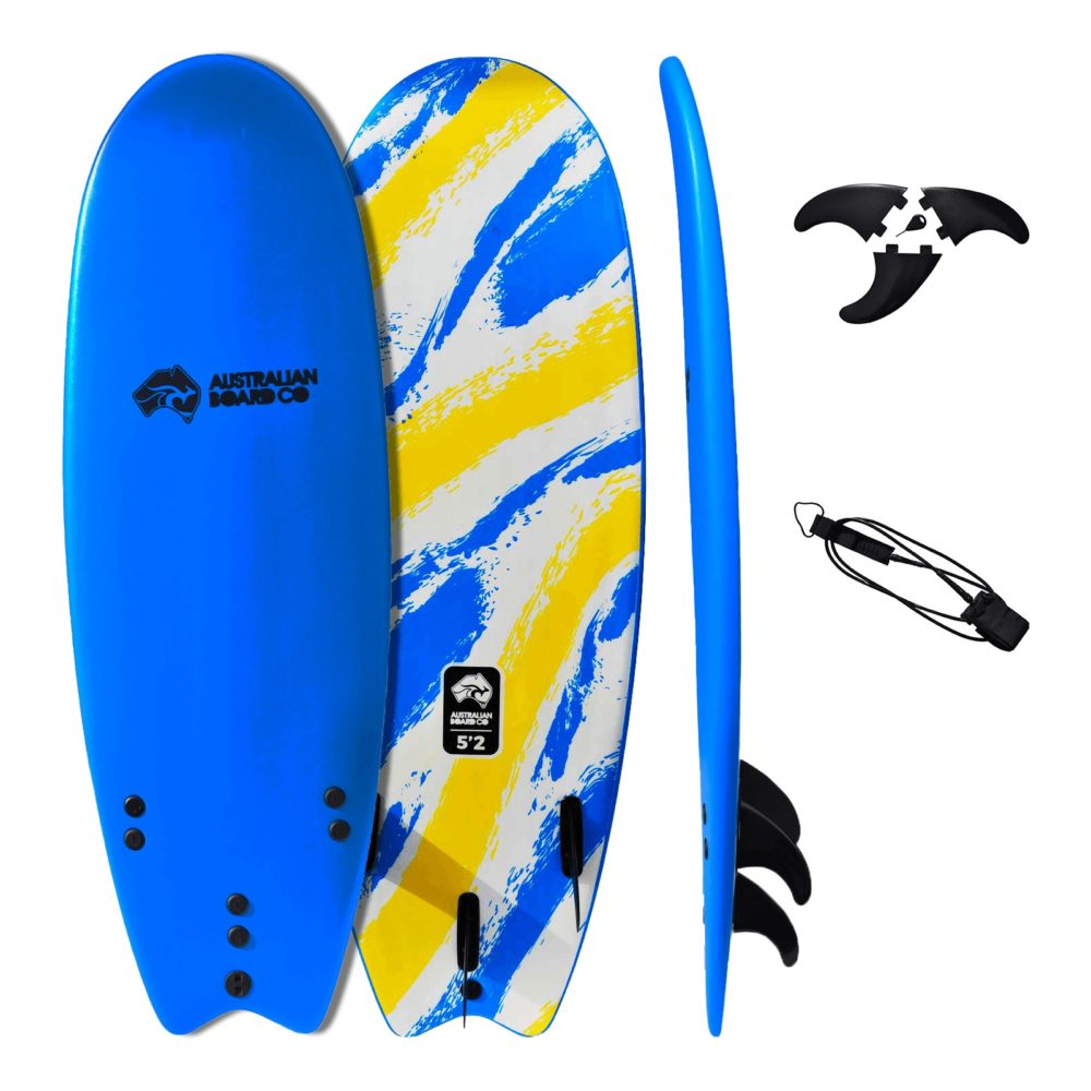 "5' 2"" ABC Performance Soft Top Kids Surfboard"